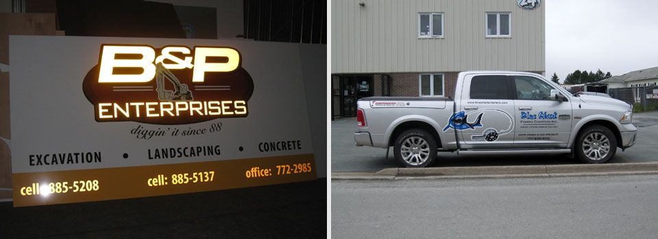 Vehicle graphics and signs